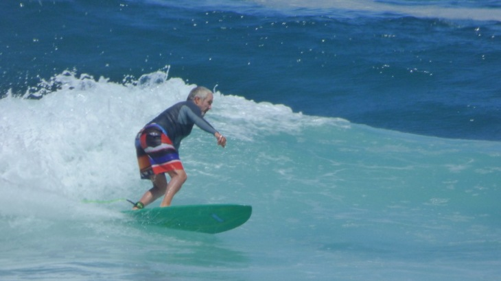 Surfing Dolphin Point, Friday February 6, 2015