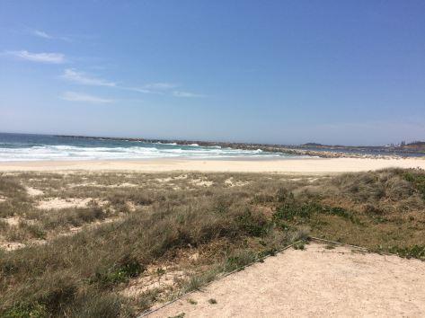 Iluka Beach looking south to Yamba