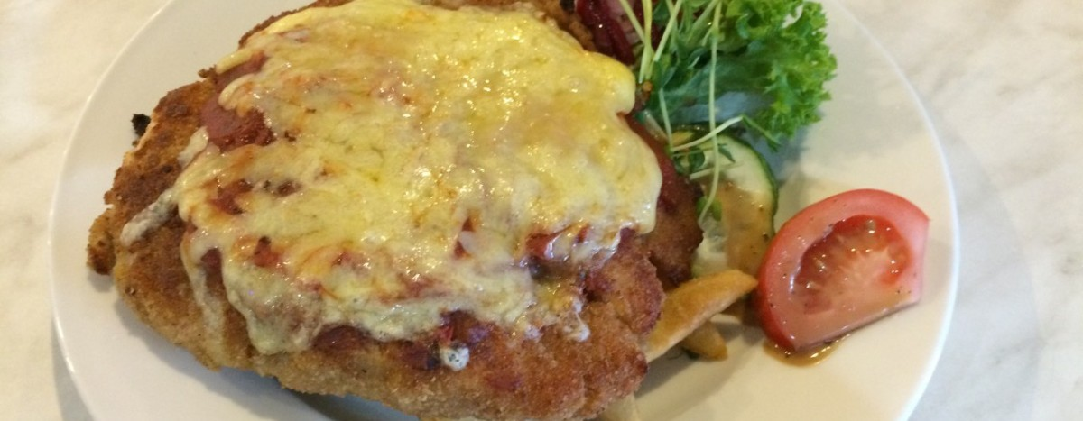 Chicken Parmigiana at The Shawsy