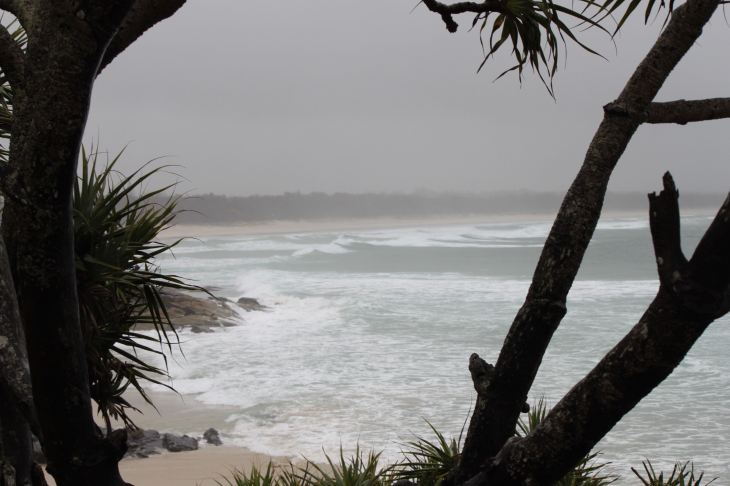 View from the Cabarita Beach Headland