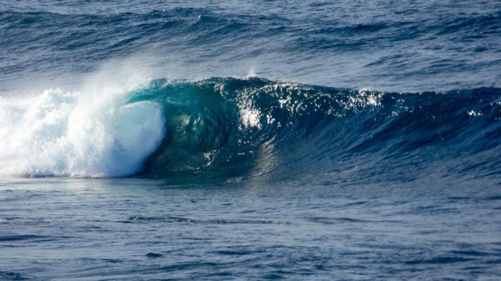 Wave at Cudmirrah Beach