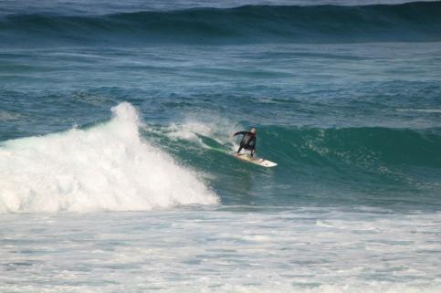 Dude on a wave