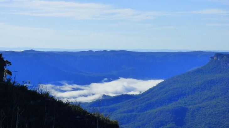 Colour of the Blue Mountains