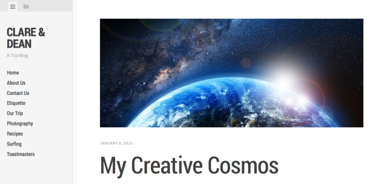 My new blog theme - Editor