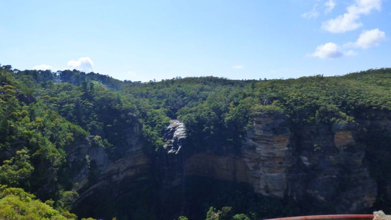 Wentworth Falls just in the Background