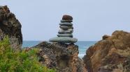 Balanced Rocks at Quarry Beach