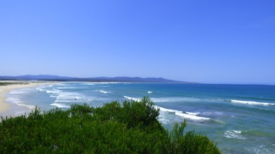 The Mouth of Mallacoota Inlet from Bastion Point