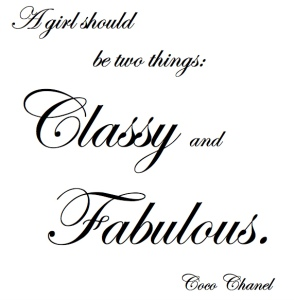 Classy and Fablous