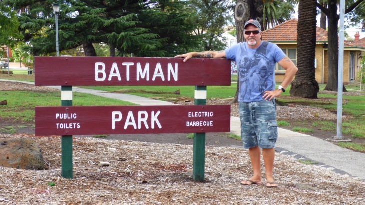 My Batman at Batman Park