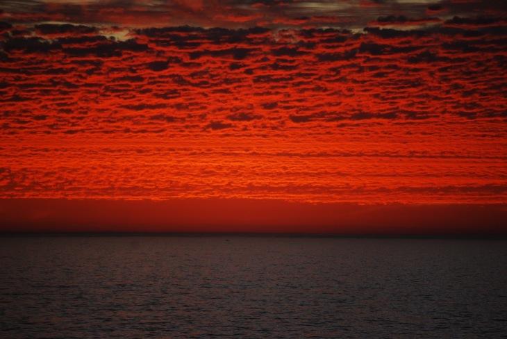 Sunset Cottesloe Beach - Perth, Western Australia - April 2009