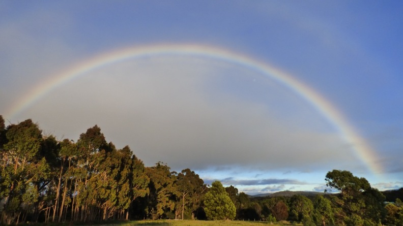 Rainbow at St Helens