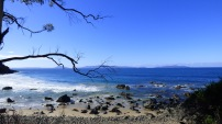 The Freycinet as seen from the other side of Great Oyster Bay