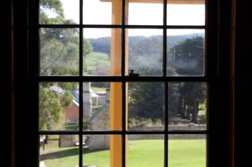 The view from inside William Smith O'Brien's house