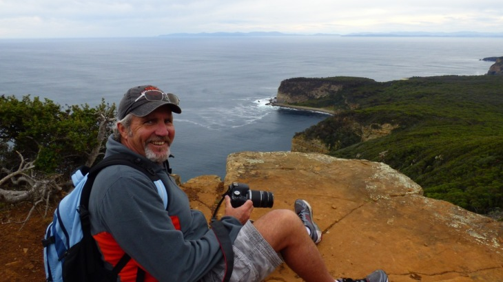 Dean at Ship Stern Bluff