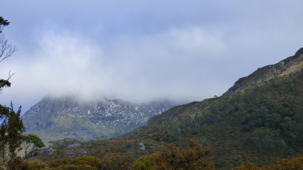 The view of Cradle Mountain that you don't want to see.