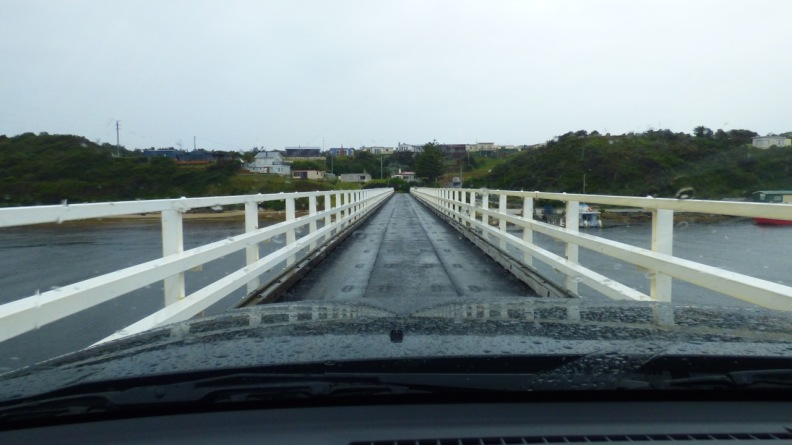 The Narrow Bridge at Arthur River