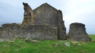 Remains of the convict barracks