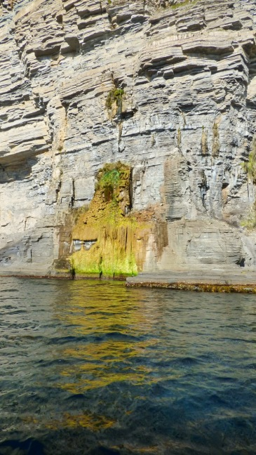 Waterfall Through the Cliffs