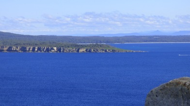 Pigeon House Mountain is clearly visible on the right - the one with the pointy top.