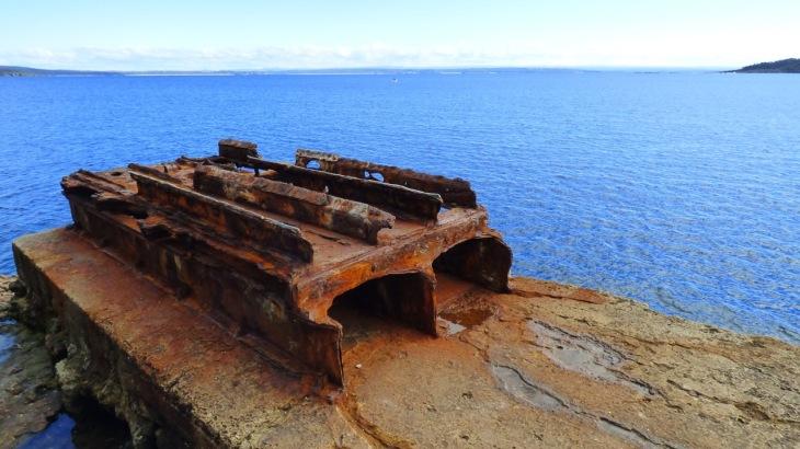Rusted Torpedo Tube