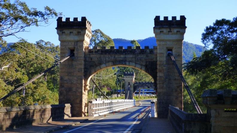 Hampden Bridge at Kangaroo Valley