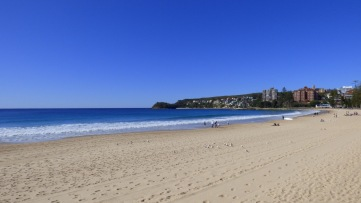 Manly Beach - Dean grew up around here
