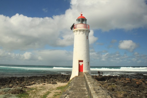 Griffiths Island Lighthouse was built as a navigation aid in 1859 when Port Fairy was becoming an important trading port for western Victoria.
