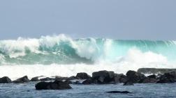 The seas were huge, at 10 foot