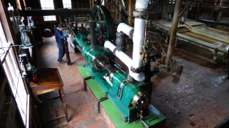 Tandem Compound Steam Engine