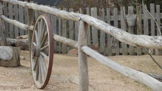 An old wheel
