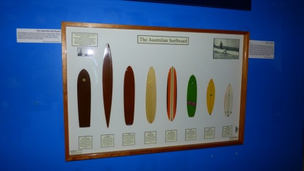 Evolution of the Australian surfboard