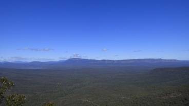 The view from The Balconies lookout
