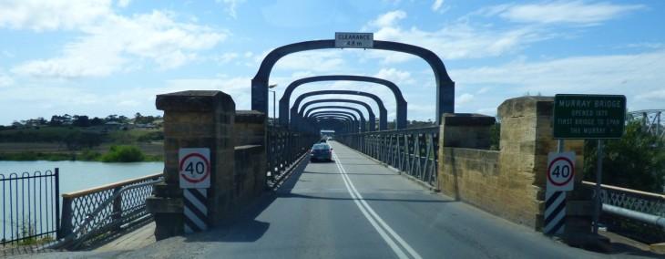 Crossing Murray Bridge