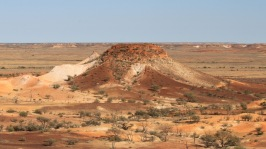 The colour of the sandstone is incredible. Mad Max - Beyond Thunderdome was one of many movies filmed here. Priscilla Queen of the Desert was another.