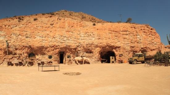 The exterior of Crocodile Harry's Underground Nest.