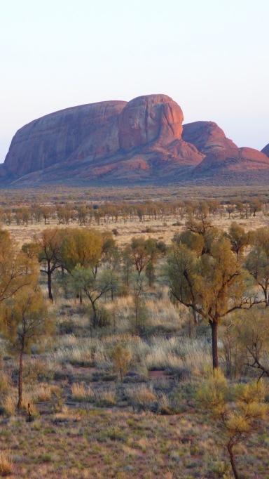Kata Tjuta Dome Across the Plain
