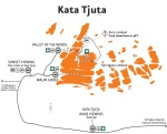 Kata Tjuta Map