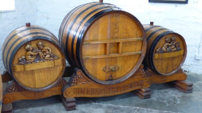 Beautiful old barrels