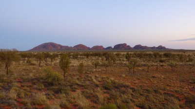 Kata Tjuta just before sunrise.