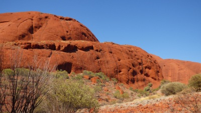The character of the domes is not that dissimilar to Uluru