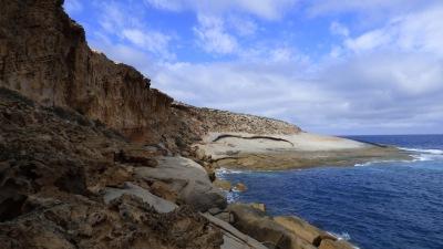 Granite Rock - this rock was huge.