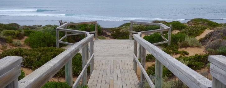 Public entry to Cactus Beach