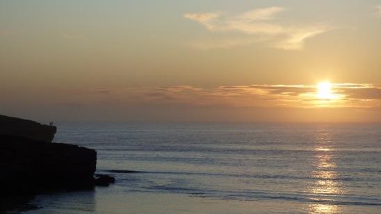 Sunset over Cactus Beach