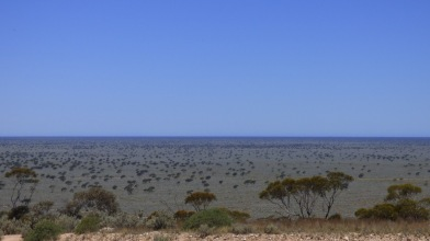 The Roe Plain viewed from the top of Madura Pass