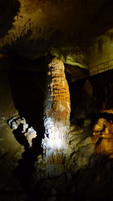 This stalagmite is thought to weigh 20 tonnes