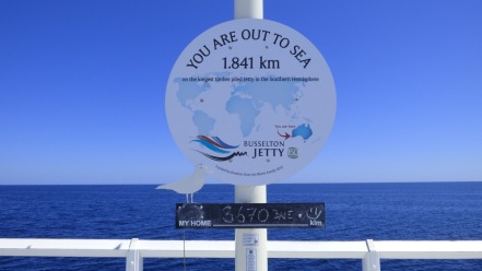 3670 kilometres from home - as the crow flies.