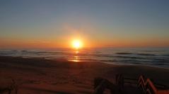 Sunrise Over Ninety Mile Beach (February 23, 2015)