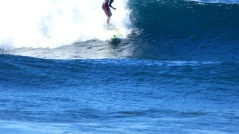 Dean Surfing at Dolphin Point (August 17, 2015)