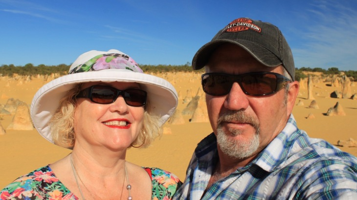 DLSR Selfie taken at The Pinnacles