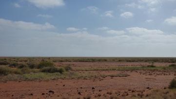 Vast red sand
